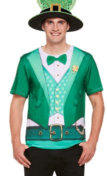 Lucky Irish T-Shirt - Adult Costume