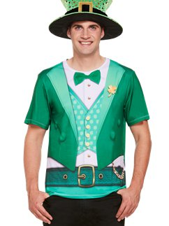 Lucky Irish T-Shirt  sc 1 st  Party Delights & St. Patricku0027s Day Fancy Dress Costumes | Party Delights