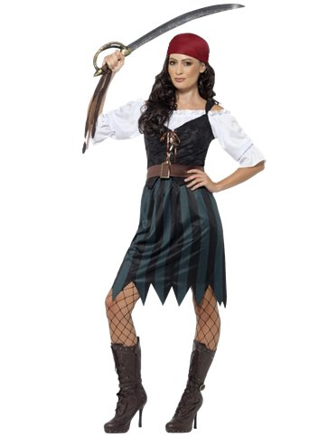 Pirate Deckhand - Adult Costume front