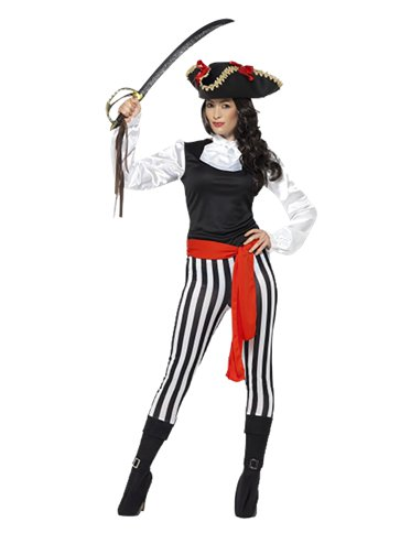 Pirate Lady - Adult Costume front