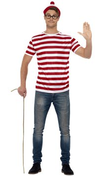 Where's Wally Instant Kit - Adult