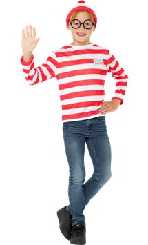 Where's Wally Instant Kit - Child Costume