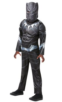 Black Panther Deluxe Muscle Chest - Child Costume