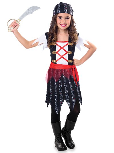 Pirate Cutie - Child Costume