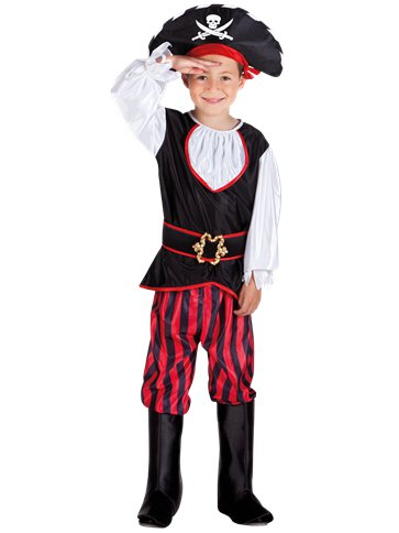 Pirate Tom - Child Costume front