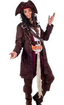 Rum Smuggler Pirate - Adult Costume