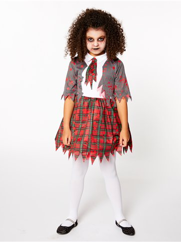 Zombie School Girl - Child Costume pla