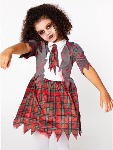 Zombie School Girl - Child Costume right