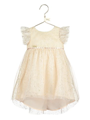 Baby Tinker Bell Party Dress with Bloomers- Baby Costume back