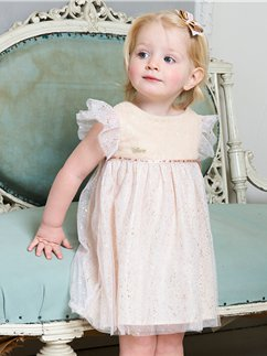 Baby Tinker Bell Party Dress with Bloomers