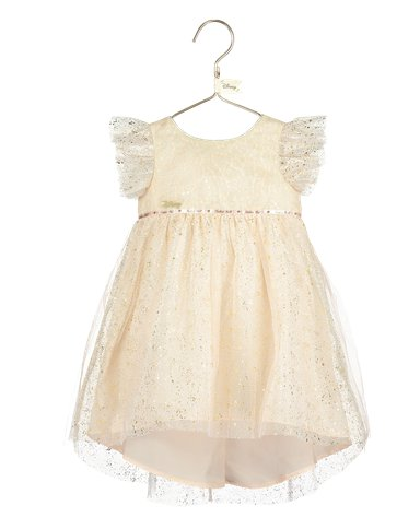 Baby Tinker Bell Party Dress with Bloomers- Baby Costume pla