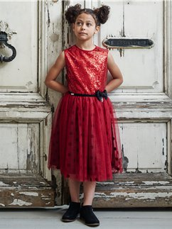 Minnie Mouse Sequin Party Dress