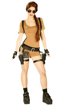 Tomb Fighter - Adult Costume