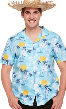 Hawaiian Sunset Shirt - Adult Costume