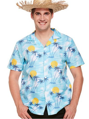 Hawaiian Sunset Shirt - Adult Costume front