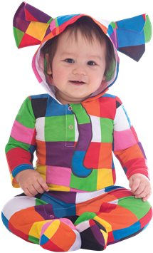 Elmer the Patchwork Elephant - Baby & Toddler Costume