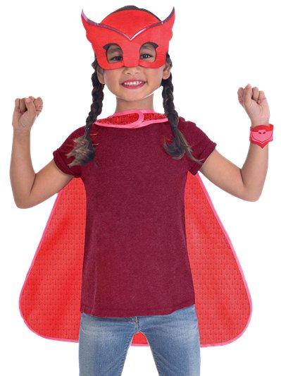 PJ Masks Owlette Cape Set - Child Costume