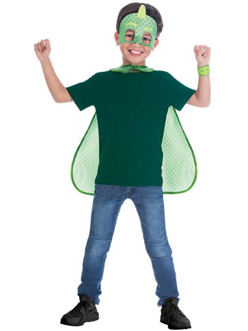 PJ Masks Gekko Cape Set - Child Costume front