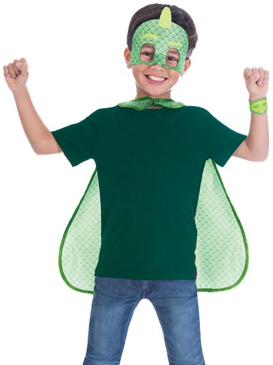 PJ Masks Gekko Cape Set - Child Costume