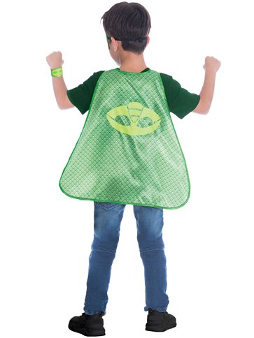 PJ Masks Gekko Cape Set - Child Costume left