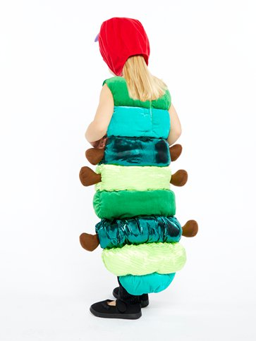 Hungry Caterpillar Deluxe - Child Costume back