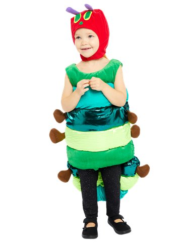 Hungry Caterpillar Deluxe - Child Costume front