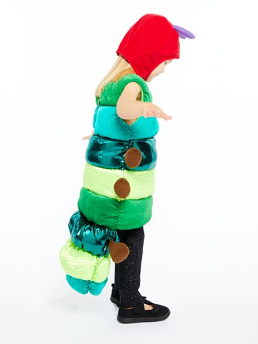 Hungry Caterpillar Deluxe - Child Costume left