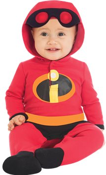 Incredibles Jersey Romper - Baby Costume