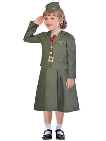WW2 Girl Soldier front