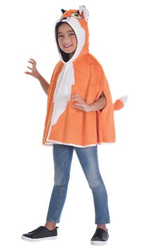 Fox Cape - Toddler & Child Costume