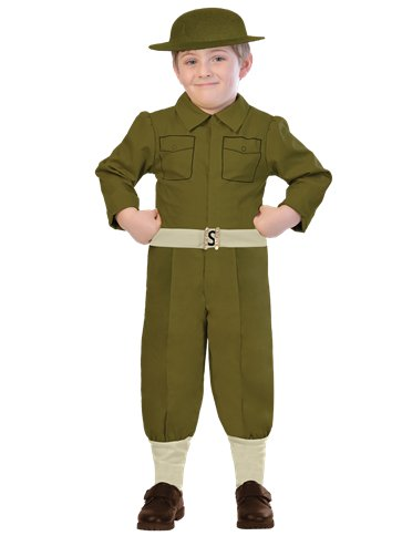 Soldier - Child Costume front