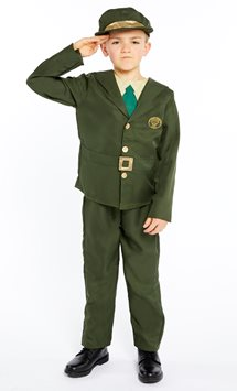 WW2 Boy Soldier - Child Costume