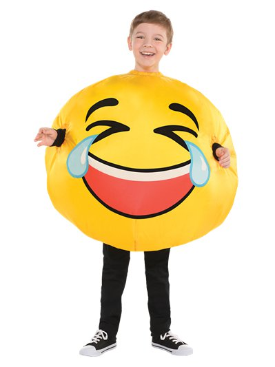 Inflatable Tears Of Laughter - Child Costume