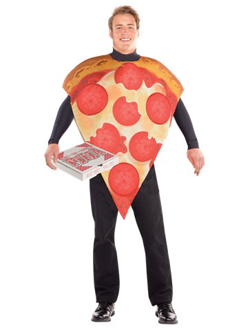 Pizza Slice - Adult Costume front