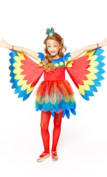 Pretty Parrot Fairy - Child Costume