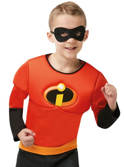 Incredibles 2 Muscle Chest Top - Child Costume