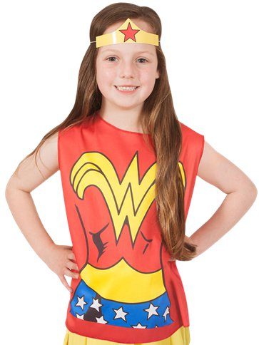 Wonder Woman Kit - Child Costume front
