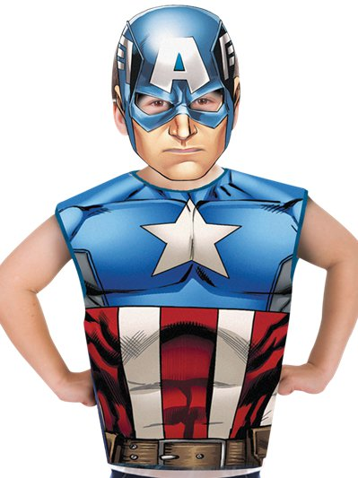 Captain America Kit - Child Costume