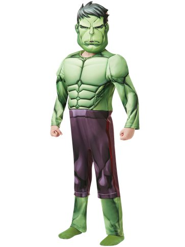 Hulk Deluxe - Child costume front