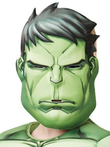 Hulk Deluxe - Child costume left