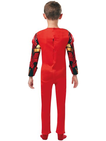 Iron Man Deluxe- Child Costume back
