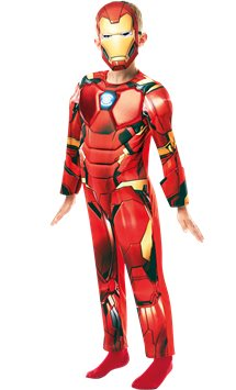 Iron Man Deluxe- Child Costume