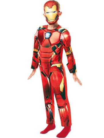 Iron Man Deluxe- Child Costume front
