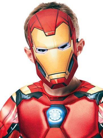 Iron Man Deluxe- Child Costume right