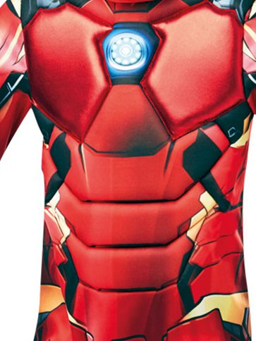 Iron Man Deluxe- Child Costume side