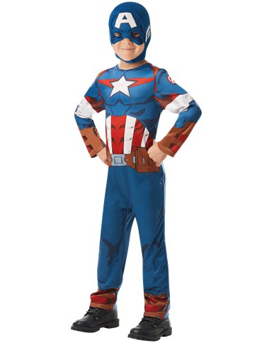 Captain America - Child Costume front