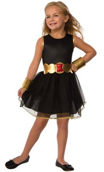 Black Widow Tutu Dress - Toddler & Child Costume