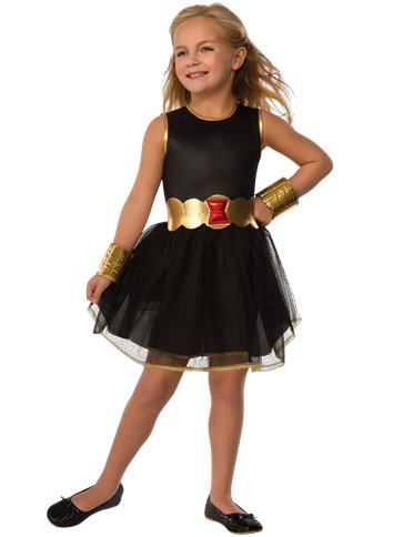 Black Widow Tutu Dress - Toddler & Child Costume front
