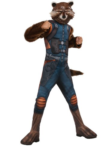 Rocket Raccoon Deluxe- Child Costume front