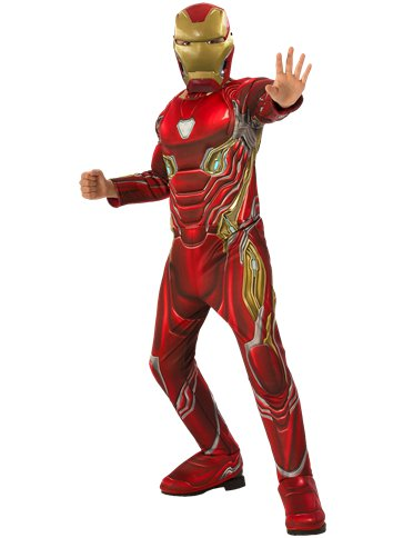 Iron Man Infinity War Deluxe - Child Costume front